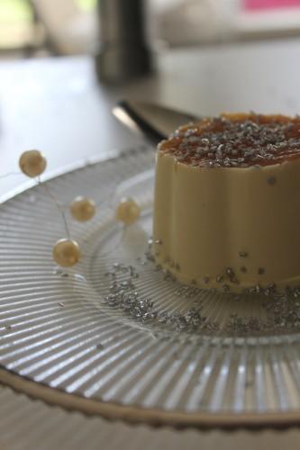 Panna cotta à la crème de châtaignes