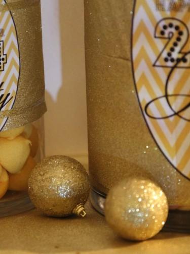 cocktail dinatoire nouvel an,candy bar nouvel an,soirée noir,blanc,doré,happy new year party ★