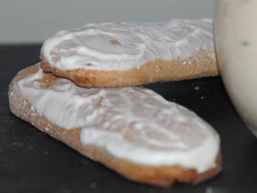 langues glacées pain d'épices, my cooking blog