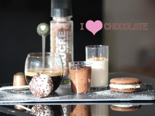 Café gourmand {3 chocolats}, my cooking blog