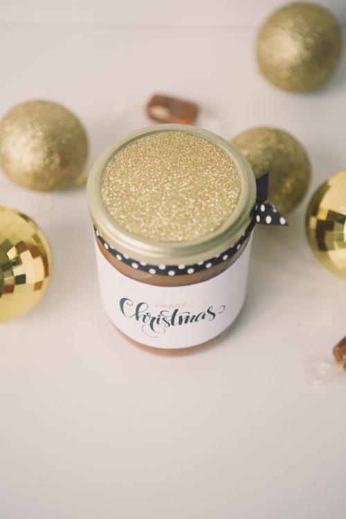 caramel au beurre salé et miel d'acacia «cadeau gourmand de noë,blog nantes,caramel au beurre salé,caramel au beurre salé à offrir