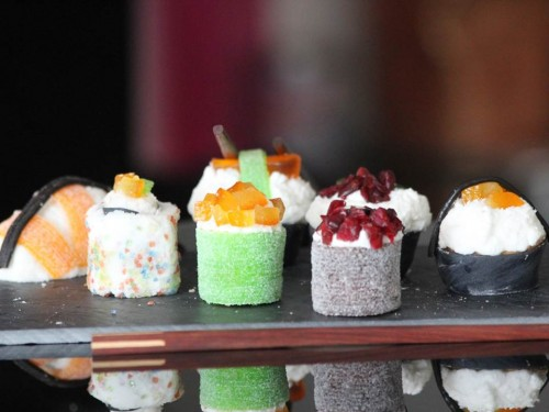 sushis cupcakes