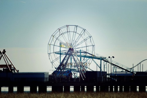 Atlantic city, le Steel Pier parc d'attraction