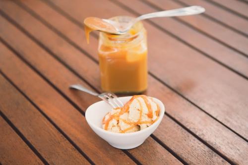 glace au caramel beurre salé,glace au caramel,my cooking blog,glace à la fleur de sel