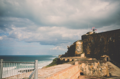 flamant rose le blog,fort san felipe del morro,site historique national de san juan