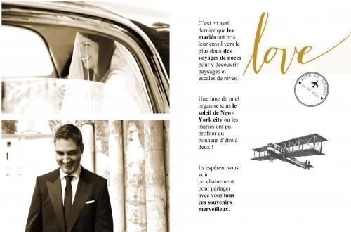 diy le journal de nos remerciements,journal version remerciement,remerciements mariage