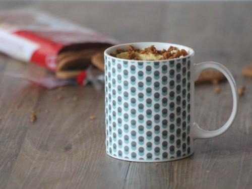 mug cheesecake,mug cake façon cheesecake,cheesecake en mug cake,mug cheesecake aux speculos