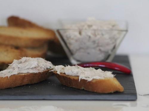 crostinis de thon et saint-môret
