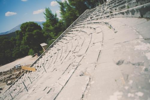 visite du sanctuaire d'asclépios en Épidaure,epidaure,grèce,théatre épidaure,ruines grecque,my cooking blog