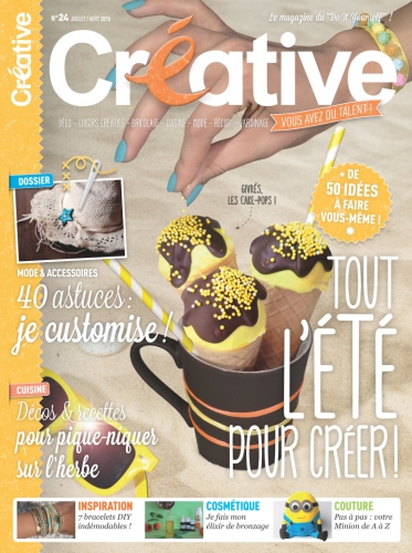 blog nantes, cake pops version cornet de glace,créative magazine,my cooking blog,blogueuse nantes