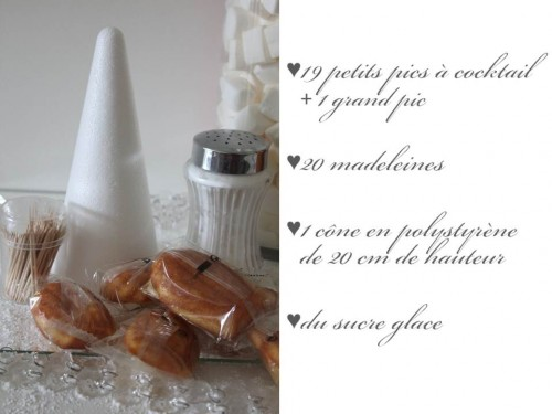 Pomme de pin en madeleines, my cooking blog
