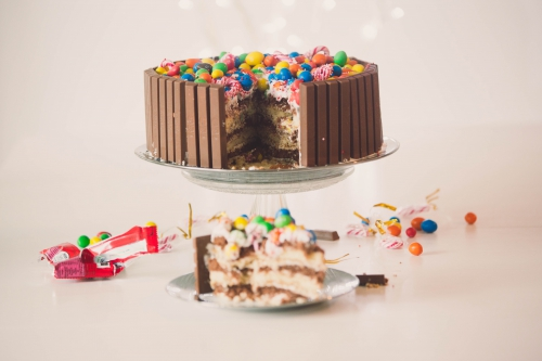 kit-kat cake,layer cake vanille et chocolat, layer kit-kat cake,my cooking blog,blog nantes,architecture & design