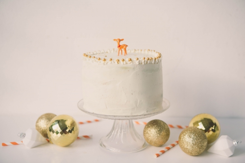 flamant rose le blog,flamant rose nantes,blog nantes,layer cake de noel «dans ma foret enchantée»,nantes,recettes nantes,layer cake vanille,gateau de noel