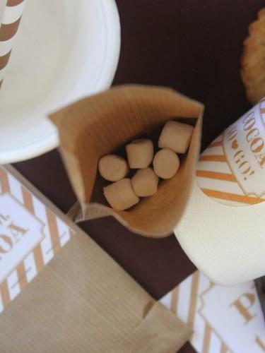 kit s'mores et chocolat chaud,s'mores sandwichs