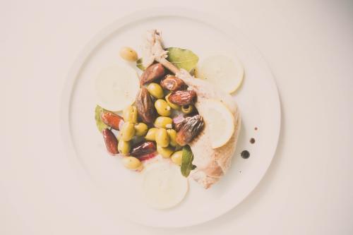 poulet aux dattes,olives et citrons,my cooking blog,blog nantes,cuisses de poulet dattes