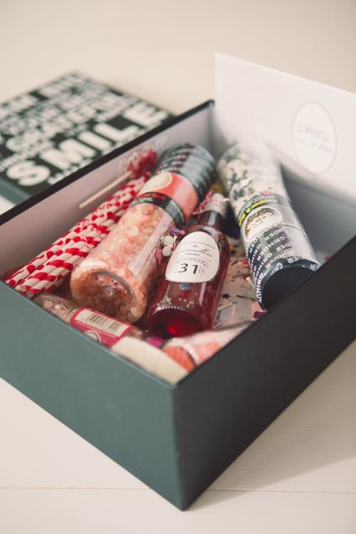 diy : box maison pour pendaison de crémaillère,box pour pendaison de crémaillère