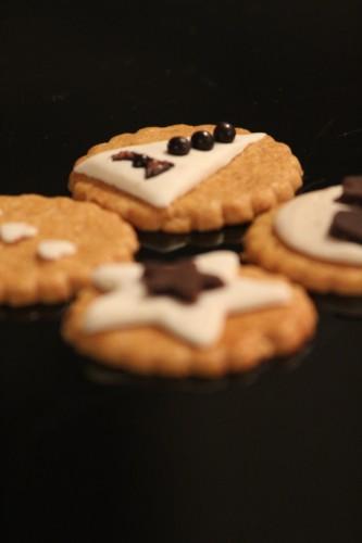 sablés décorés, my cooking blog