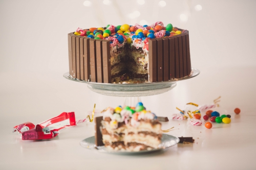 kit-kat cake,layer cake vanille et chocolat,my cooking blog,blog nantes,architecture & design