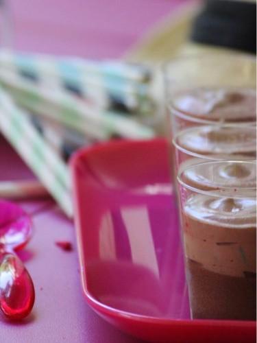 mousse chocolat et café