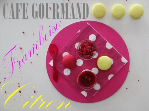 café gourmand framboise-citron