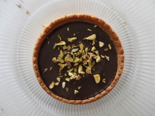 tartelettes chocolat pistache