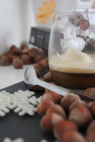 café de noël à la noisette, nespresso 2012, my cooking