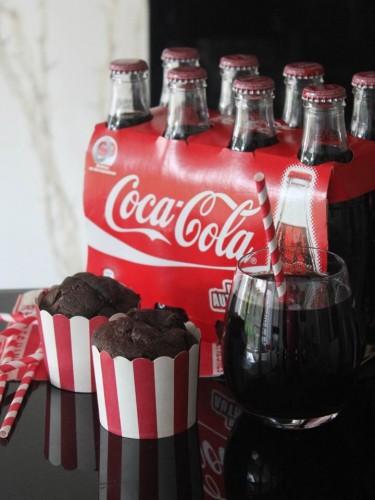 Cake coca-cola & chocolat