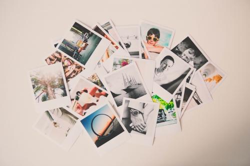 poladdict,cadre photo polaroid,décoration,diy polaroid,diy : cadre photos polaroid,flamant rose le blog