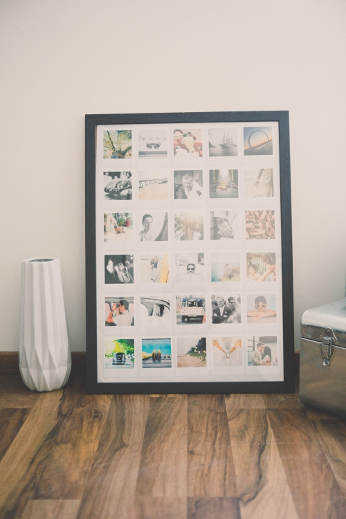 diy cadre photos polaroid my cooking blog blog cuisine lifestyle voyage d couverte. Black Bedroom Furniture Sets. Home Design Ideas