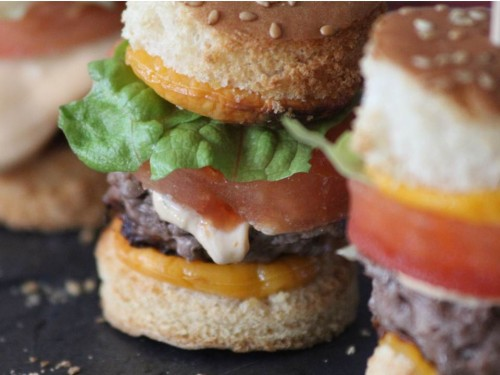 Mini burger party larousse, my cooking blog