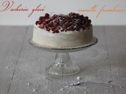 vacherin glacé {vanille  framboise}
