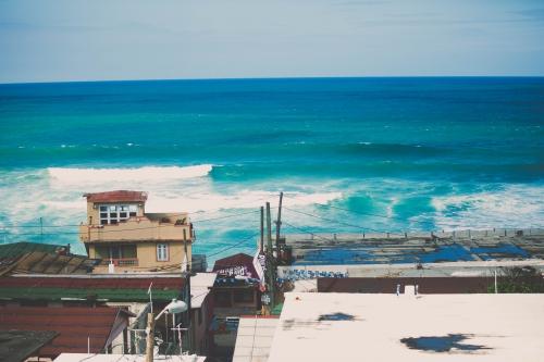 LA PLAGE DE SAN JUAN À puerto rico, SAN JUAN, FLAMANT ROSE LE BLOG7.jpg