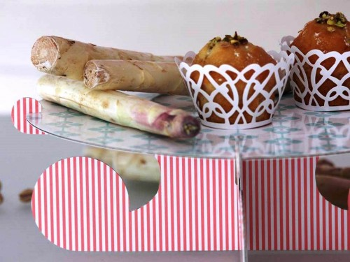 muffins asperges et pistaches