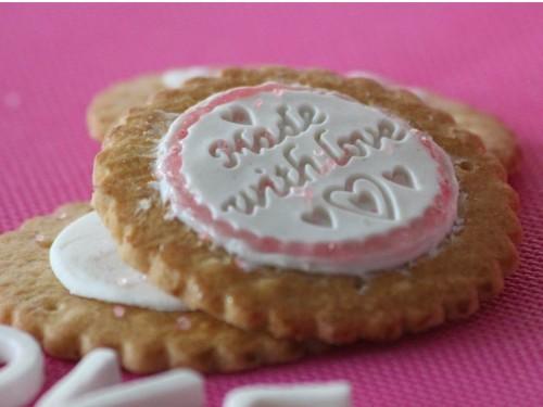Sablés Valentine Day