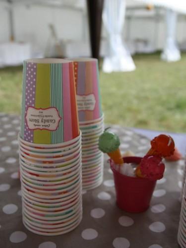 vin d'honneur sucrée,candy bar mariage,tartuffe de monté carl,glaces chamallows et peanuts butter