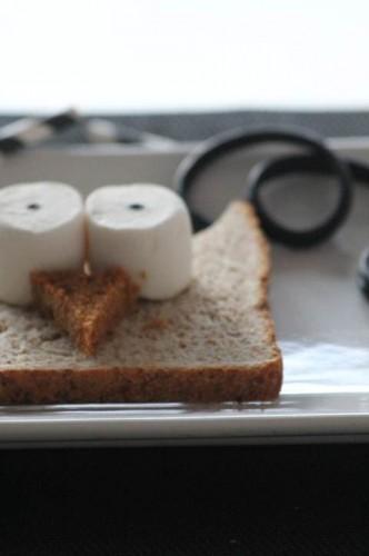 Pain de mie décorée, my cooking blog