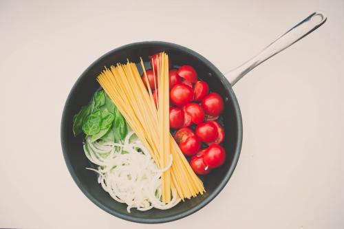 one-pot pasta (tomates,basilic et bouillon tomates-basilic),my cooking blog,one-pot pasta aux tomates et au basilic
