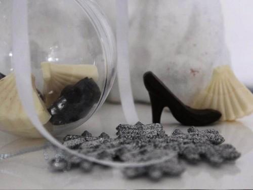 Chocolat en forme de chaussures, Gourmandises maison à offrir