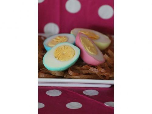 Nid de Pâques aux œufs durs, oeufs rainbow, oeufs durs colorés, oeufs dur de paques (9).jpg