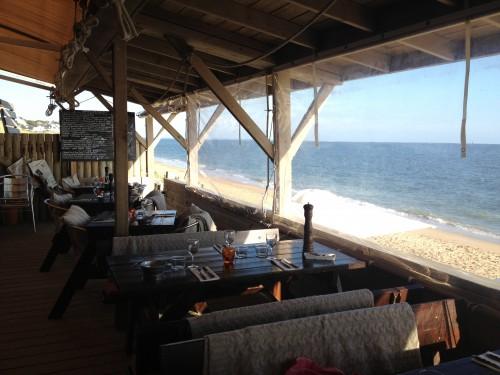 le Récif, Pornichet, restaurant, les pieds dans l'eau
