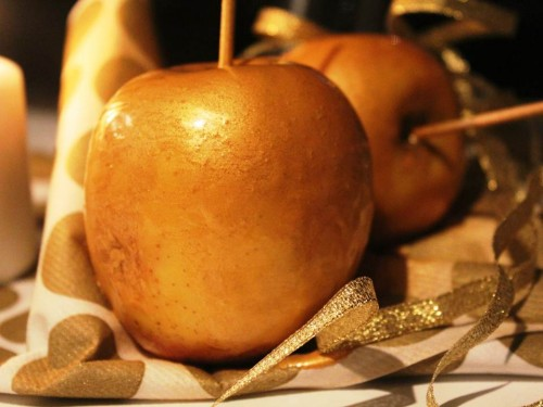 pommes d'amour dorées, my cooking blog