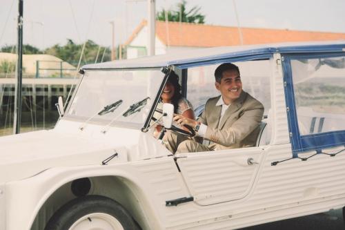 mariage noirmoutier,le jardin de tana restaurant noirmoutier,mariage civil surprise