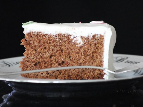 Gâteau au chocolat {nappage pâte à sucre}