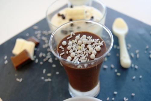 Mousse au chocolat noir, Sucres décoratifs multi-perles, scrapcooking