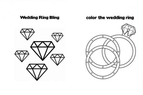 occuper les enfants pendant le mariage,idées d'animations pour enfants pour un mariage,coloriage mariage,badges mariage,décoration pour la table des enfants au mariage